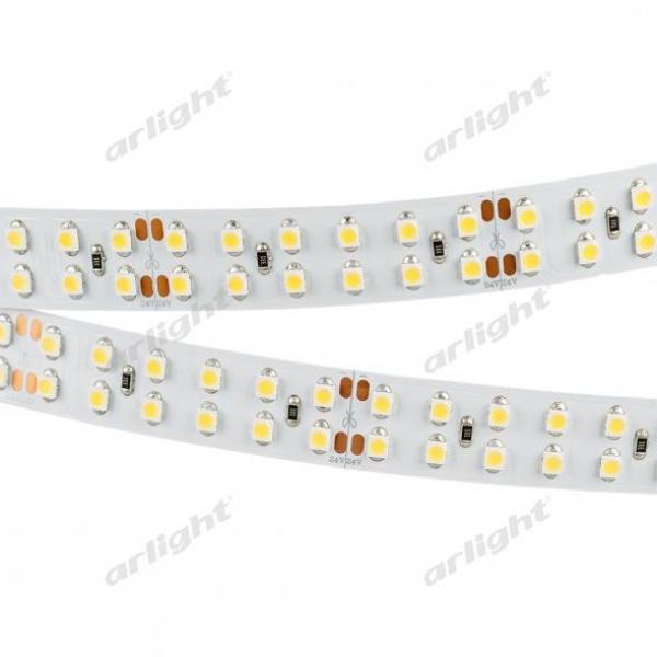 Лента RT 2-5000 24V Warm2700 2x2 (3528, 1200 LED, LUX)