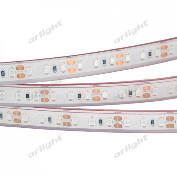 Лента RTW 2-5000PGS 12V Yellow 2x (3528, 600 LED, LUX)
