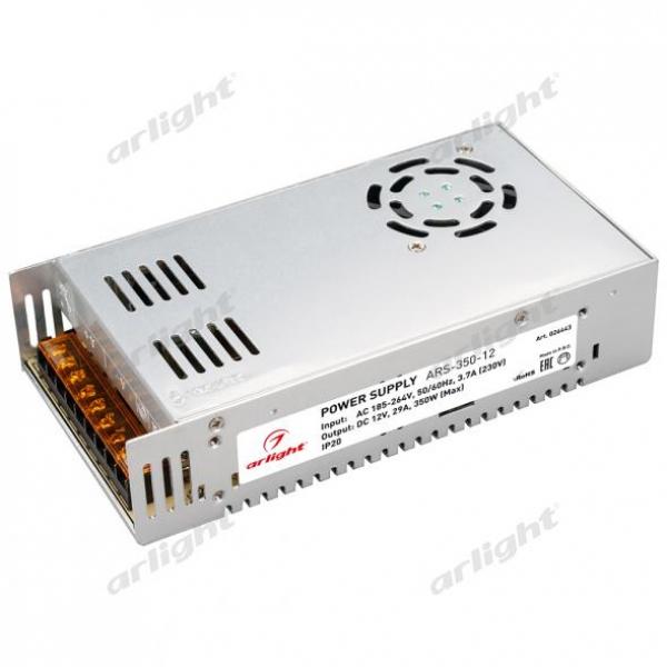 Блок питания ARS-350-12 (12V, 29A, 350W)