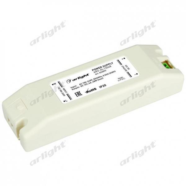 Блок питания ARV-AL12048 (12V, 4A, 48W)