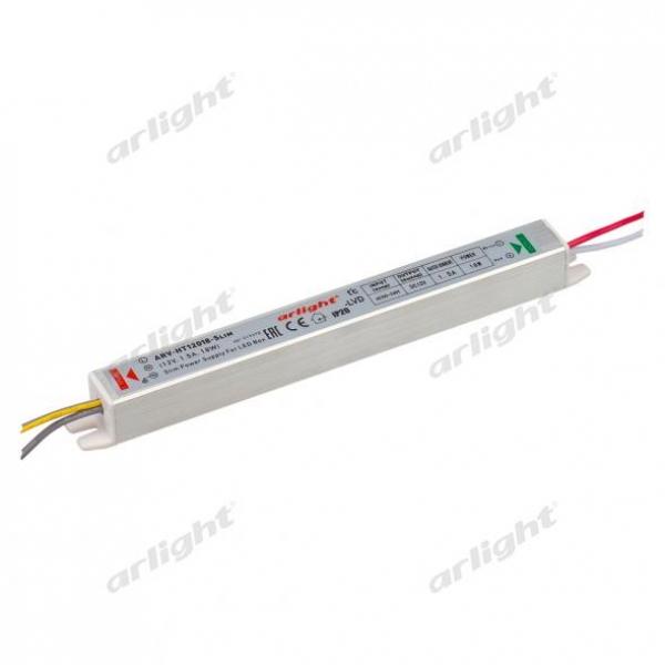 Блок питания ARV-HT12018-Slim (12V, 1.5A, 18W)