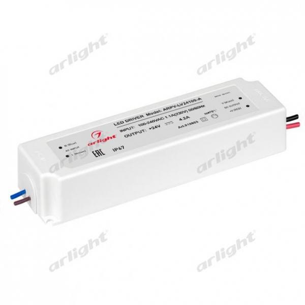 Блок питания ARPV-LV24100-A (24V, 4.2A, 100W)