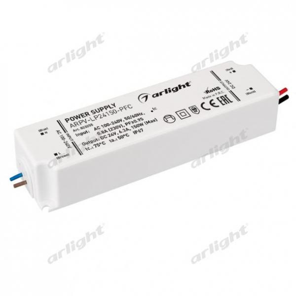 Блок питания ARPV-LP24150-PFC (24V, 6.3A, 150W)
