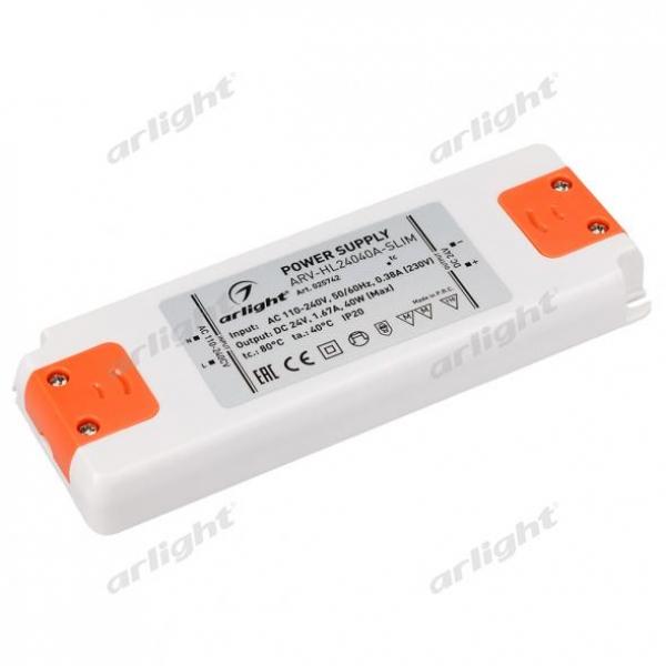 Блок питания ARV-HL24040A-Slim (24V, 1.67A, 40W)