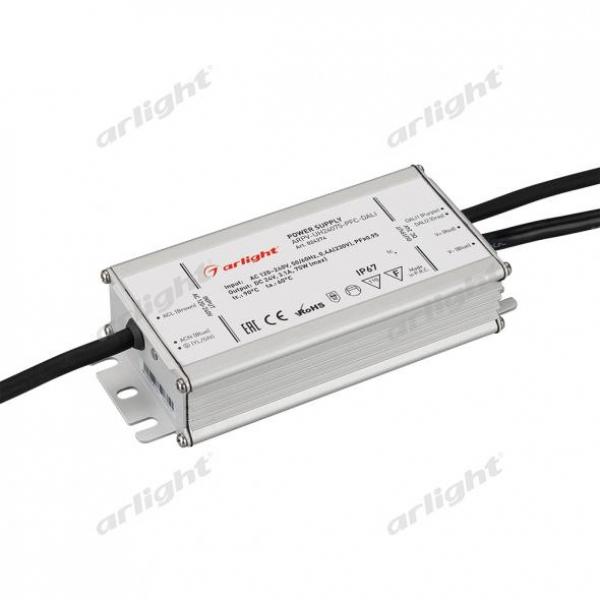 Блок питания ARPV-UH24075-PFC-DALI (24V, 3.1A, 75W)
