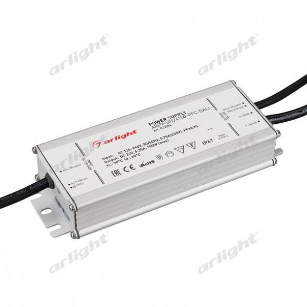 Блок питания ARPV-UH24150-PFC-DALI (24V, 6.3A, 150W)
