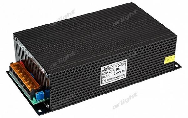 Блок питания JTS-480-250-A (0-250V, 1.9A, 480W)