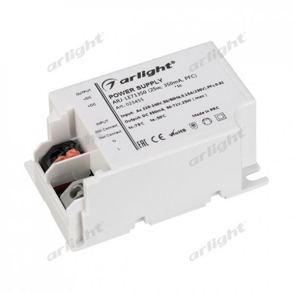 Блок питания ARJ-LE71350 (25W, 350mA, PFC)