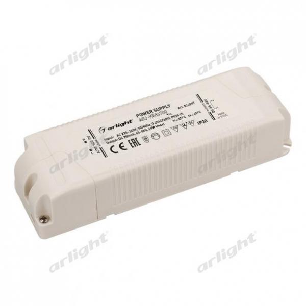 Блок питания ARJ-KE86700 (60W, 700mA, PFC)
