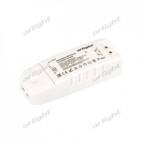 Блок питания ARJ-LK40600-DIM (24W, 600mA, PFC, Triac)