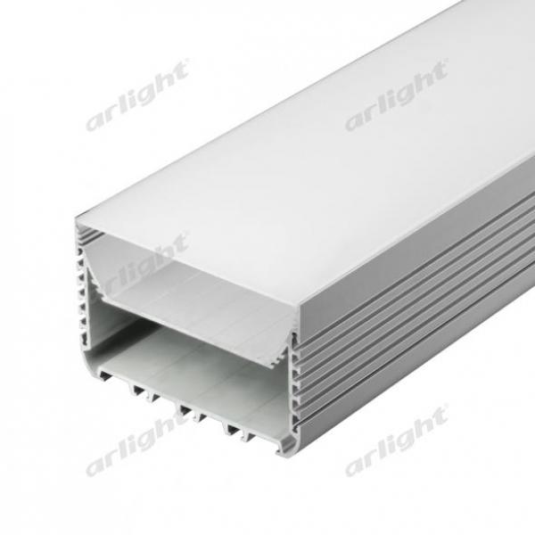 Профиль с экраном ALU-POWER-W8070-2000 ANOD+FROST