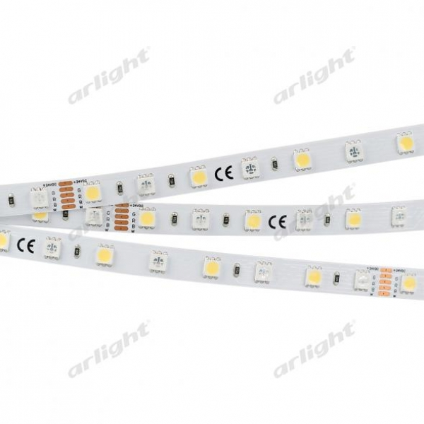Лента RT6-5050-60 24V RGB-White 2x (300 LED)