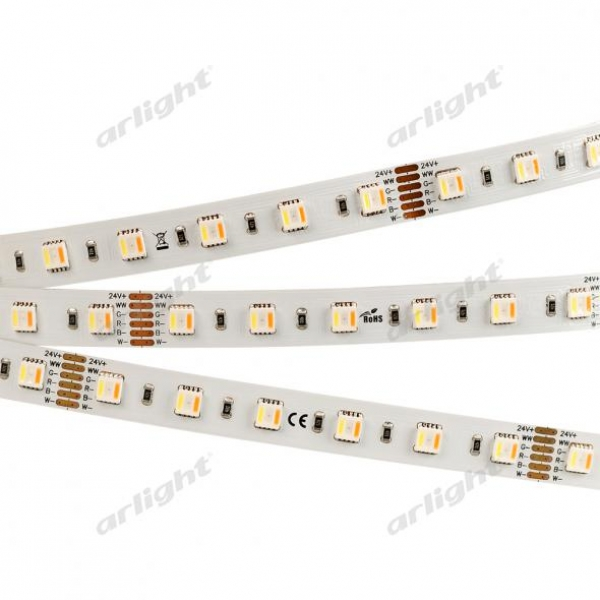 Лента RT 2-5000 24V RGBW-MIX 12mm (5060-One, 60 LED/m, LUX)