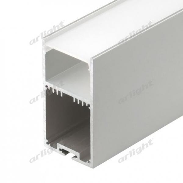 Профиль с экраном SL-LINE-3667-2500 ANOD+OPAL