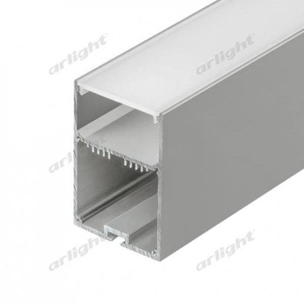 Профиль с экраном SL-LINE-4970-2500 ANOD+OPAL