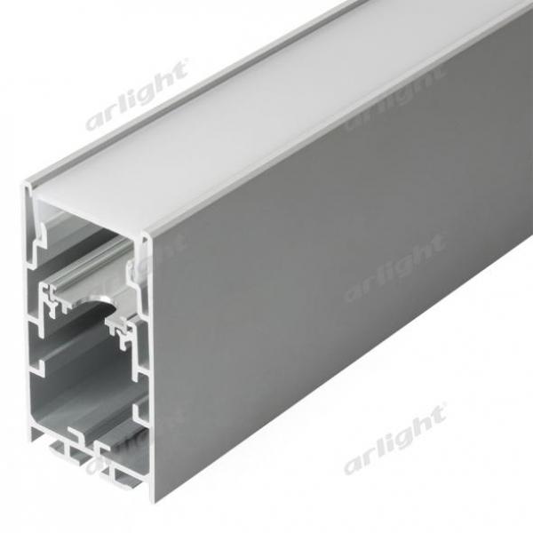 Профиль с экраном S2-LINE-3360-2500 ANOD+OPAL