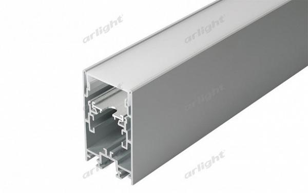 Профиль с экраном S2-LINE-4067-2500 ANOD+OPAL