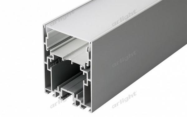 Профиль с экраном S2-LINE-5470-2500 ANOD+OPAL