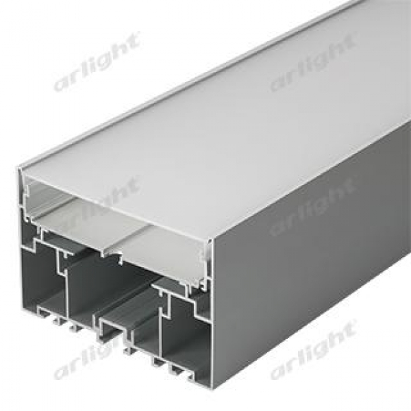 Профиль с экраном S2-LINE-10570-2500 ANOD+OPAL