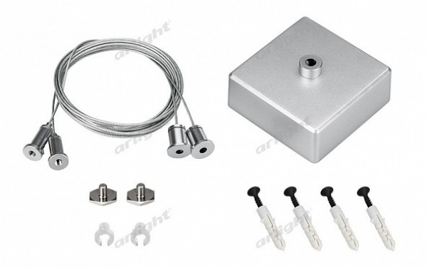 Подвес S2-LINE 2x2m Set (Silver Box, Pad 15x2mm)