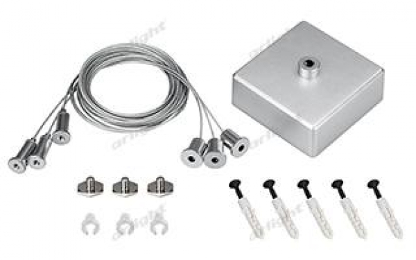 Подвес S2-LINE-3x2m Set (Silver Box, Pad 15x2mm)