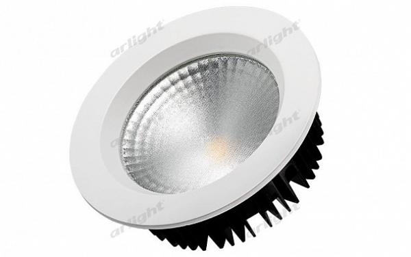 Светодиодный светильник LTD-145WH-FROST-16W Day White 110deg