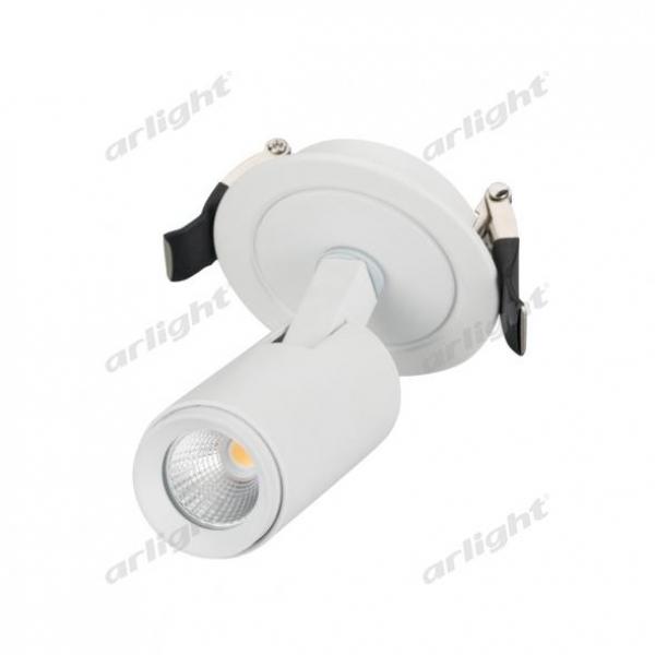 Светильник LGD-LUMOS-R35-5W Warm3000 (WH, 38 deg)
