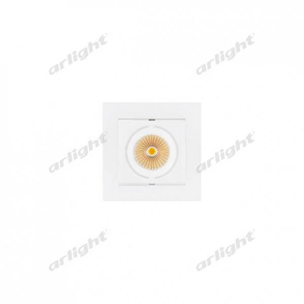 Светильник CL-KARDAN-S102x102-9W Warm (WH, 38 deg)
