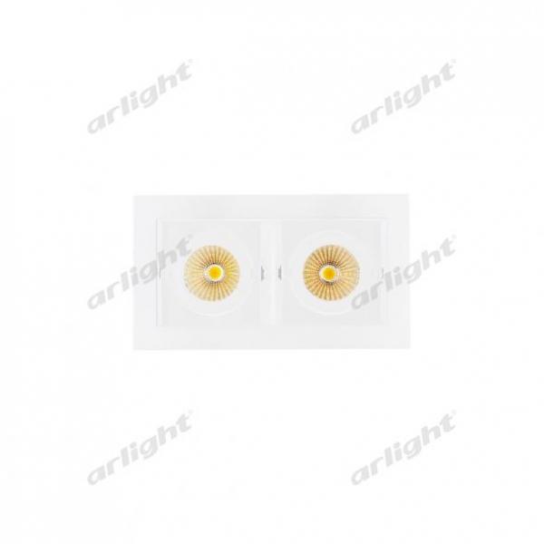Светильник CL-KARDAN-S180x102-2x9W Day (WH, 38 deg)