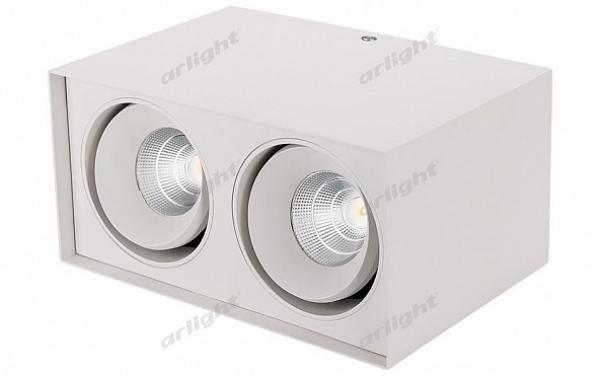 Светильник SP-CUBUS-S100x200WH-2x11W Warm White 40deg