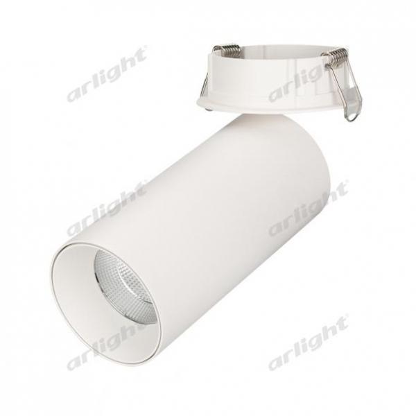 Светильник SP-POLO-BUILT-R65-8W White5000 (WH-WH, 40 deg)