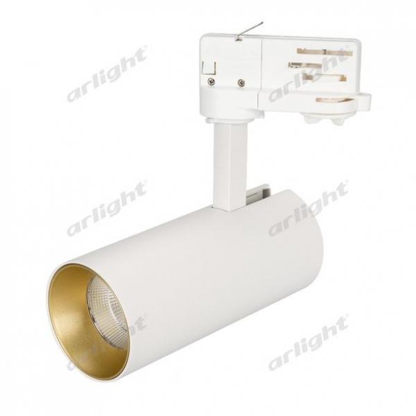 Светильник SP-POLO-TRACK-LEG-R65-8W Day4000 (WH-GD, 40 deg)