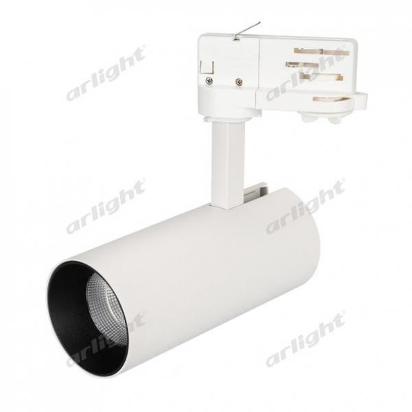 Светильник SP-POLO-TRACK-LEG-R65-8W Warm3000 (WH-BK, 40 deg)