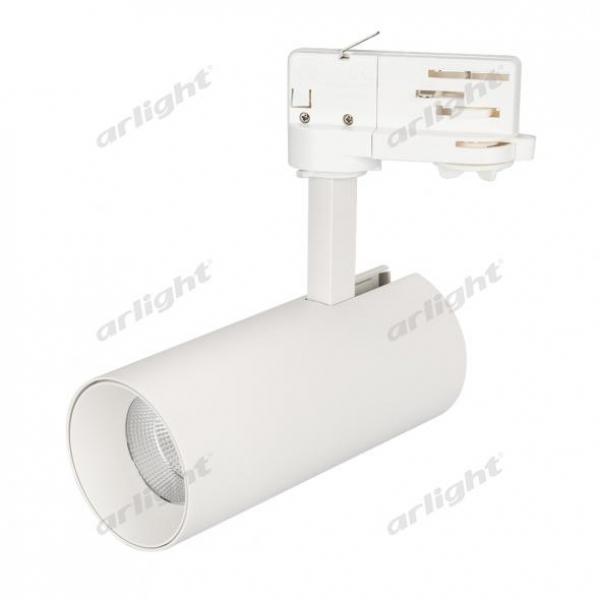 Светильник SP-POLO-TRACK-LEG-R65-8W Warm3000 (WH-WH, 40 deg)