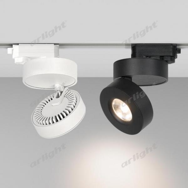 Светильник LGD-MONA-TRACK-4TR-R100-12W Warm3000 (WH, 24 deg)