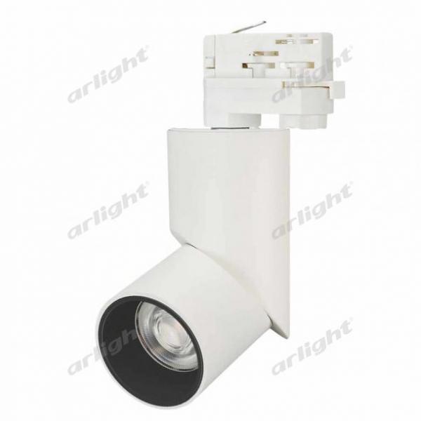 Светильник LGD-TWIST-TRACK-4TR-R70-15W White5000 (WH-BK, 30 deg)