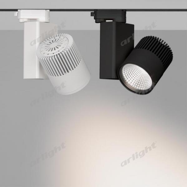 Светильник LGD-ARES-4TR-R100-40W White6000 (BK, 24 deg)