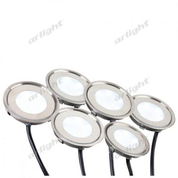 Набор KT-R-6x0.5W LED Day White 12V (круг)
