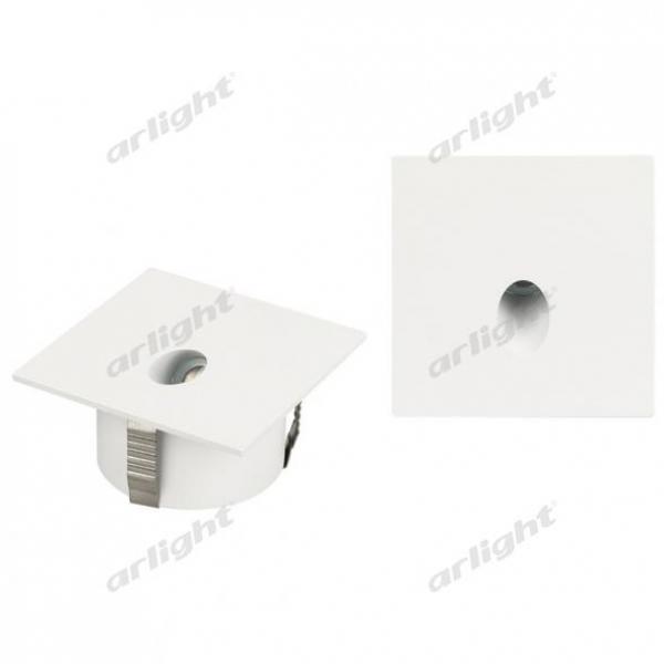 Светильник LT-GAP-S70x70-3W Warm3000 (WH, 30 deg)