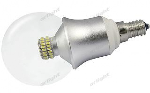 Светодиодная лампа E14 CR-DP-G60 6W White