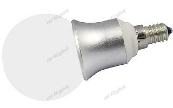 Светодиодная лампа E14 CR-DP-G60M 6W Warm White