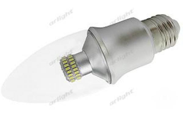 Светодиодная лампа E27 CR-DP-Candle 6W Day White