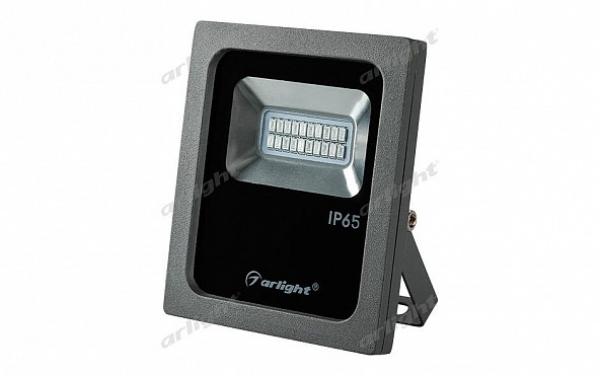 Светодиодный прожектор AR-FLG-FLAT-10W-220V Red