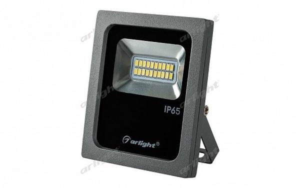 Светодиодный прожектор AR-FLG-FLAT-10W-220V Day