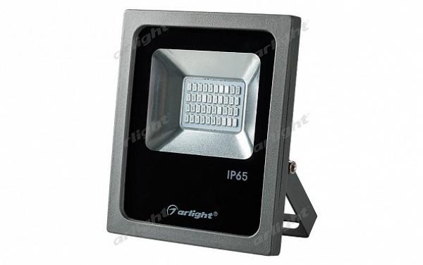 Светодиодный прожектор AR-FLG-FLAT-20W-220V Red