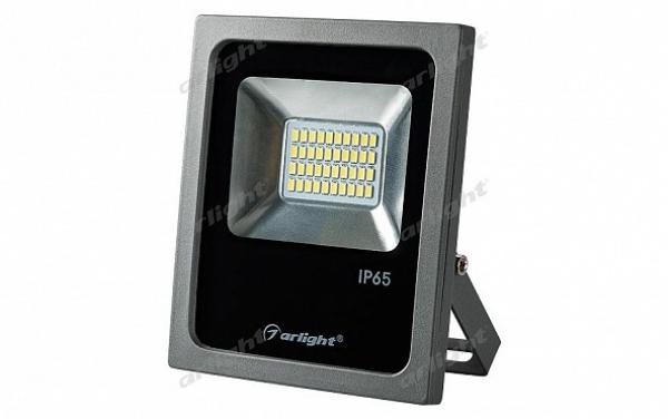 Светодиодный прожектор AR-FLG-FLAT-20W-220V White
