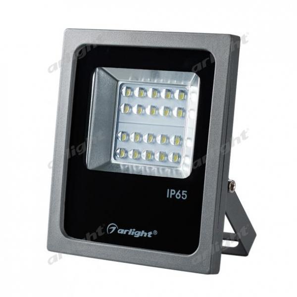 Светодиодный прожектор AR-FLAT-ARCHITECT-20W-220V Day (Grey, 50x70 deg)