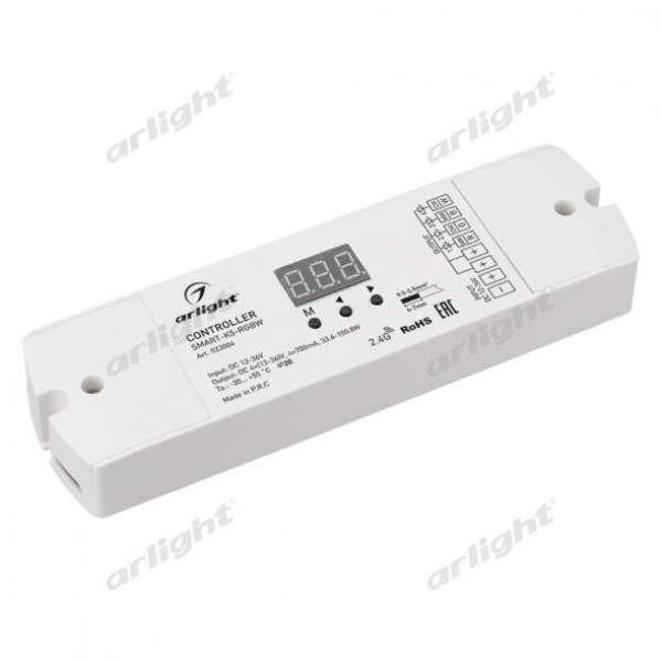 Контроллер тока SMART-K5-RGBW (12-36V, 4x700mA)