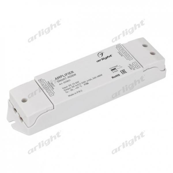 Усилитель SMART-RGBW (12-24V, 4x5A)