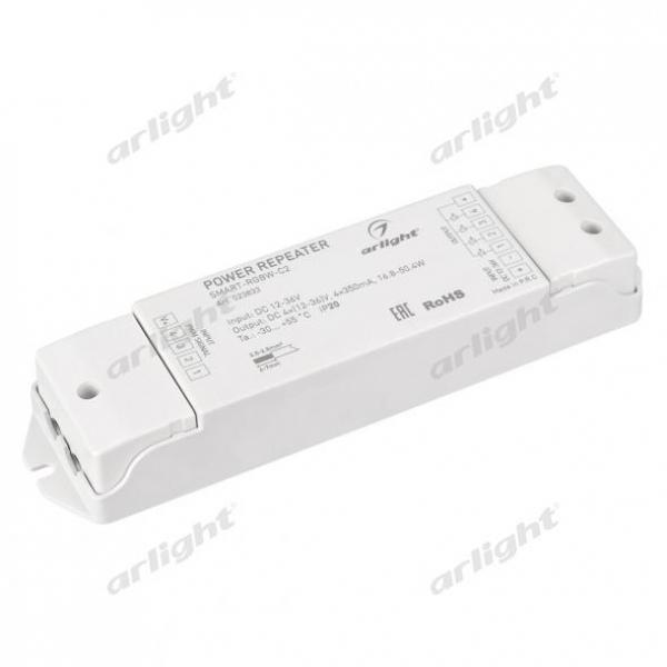 Усилитель SMART-RGBW-С2 (12-36V, 4x350mA)